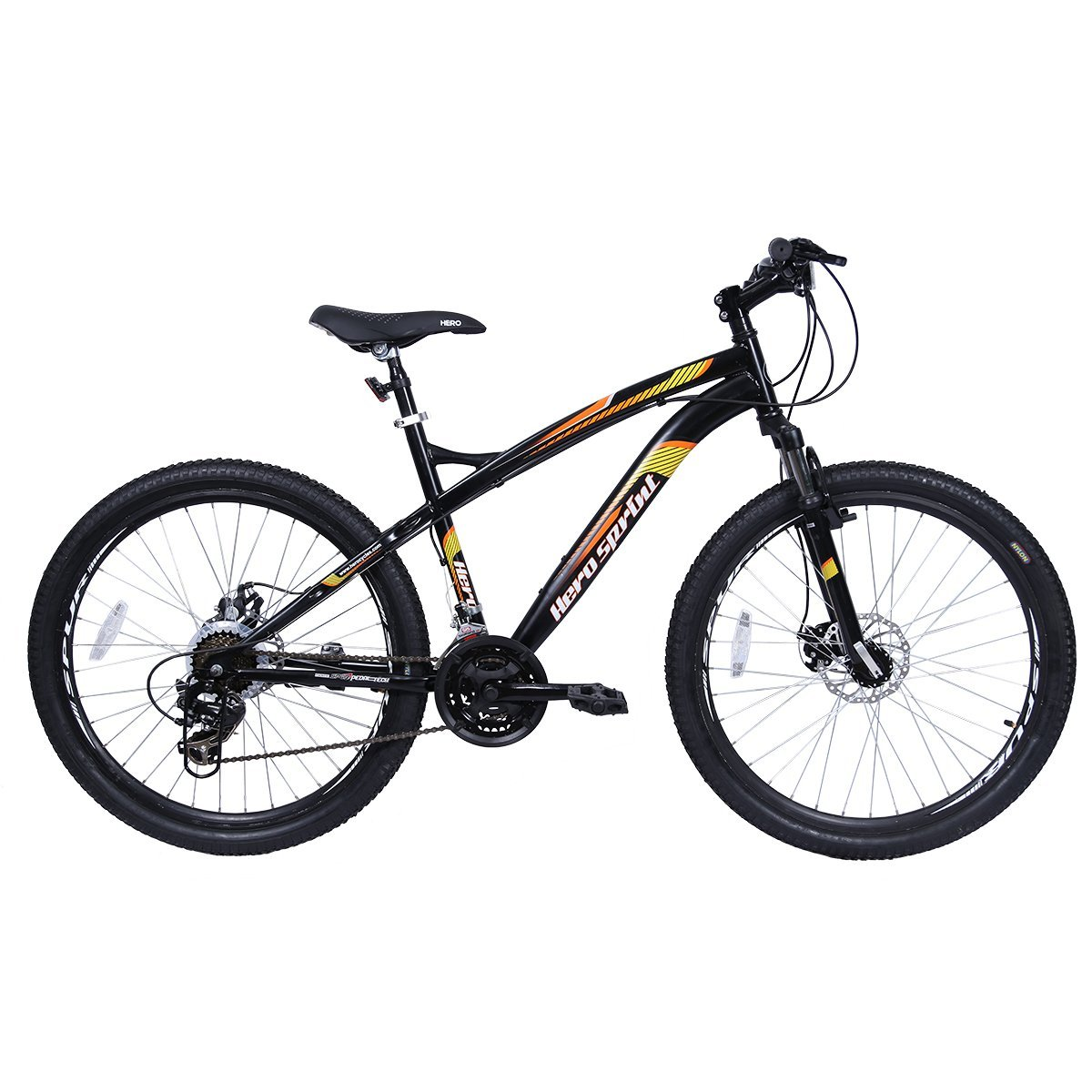 Hero Sprint Ultron 26T 21 Speed Mountain Cycle (Black) product image