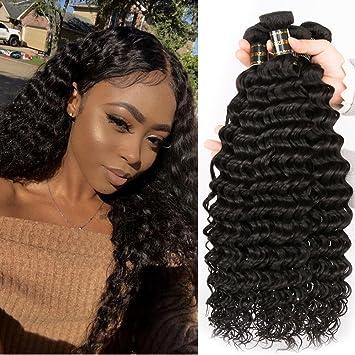 Glamorous Remi Deep Wave Hair Brazilian Virgin Curly Hair Unprocessed Brazilian Deep Curly Human