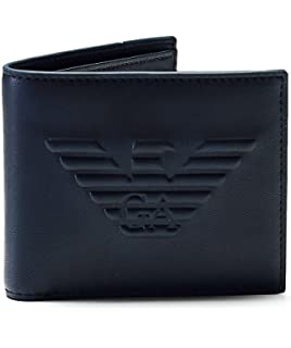 3597609f75e7 Armani Jeans All Over Wallet in Black One Size  Amazon.fr  Vêtements ...