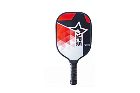 ALLPRIMESPORTS: Fiberglass Composite Pickleball Paddle Surface | Honeycomb Polymer Core | Premium Comfort Racket Grip