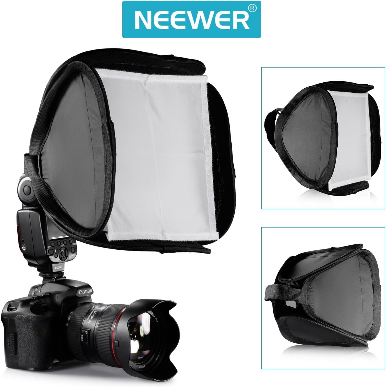 Neewer 23x23cm Softbox Mini Diffusore per Flash Nikon SB910 SB900 SB800 ecc.