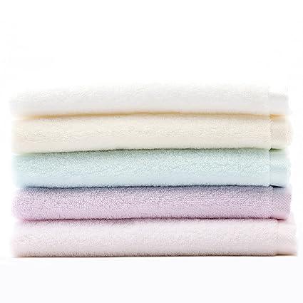 SVAKOM – Lote de 5 toallas 100% algodón Toallas de baño secado rápido cuidado de