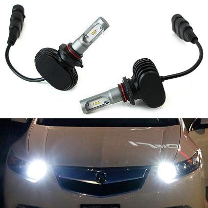 acura headlight wiring wiring diagram usedamazon com ijdmtoy 50w high power  9005 hb3 led headlight bulbs
