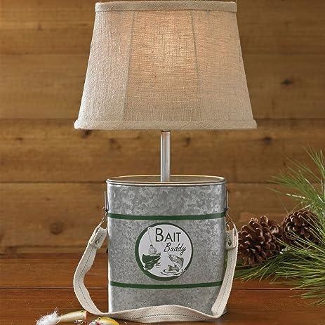 Amazon.com: Minnow Bucket Lamp with Shade: Home & Kitchen