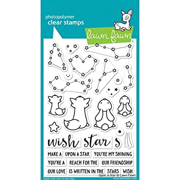 Lawn Fawn Upon a Star Transparent Stamp: Amazon.de: Küche & Haushalt
