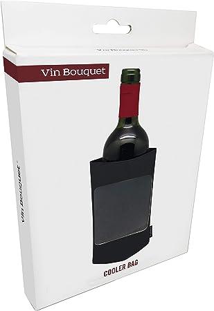 Vin Bouquet, funda enfriadora, Negro, 22.7 x 14.7 x 2.2 cm