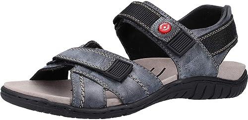 Rieker Herren Sandalen Blau: : Schuhe & Handtaschen