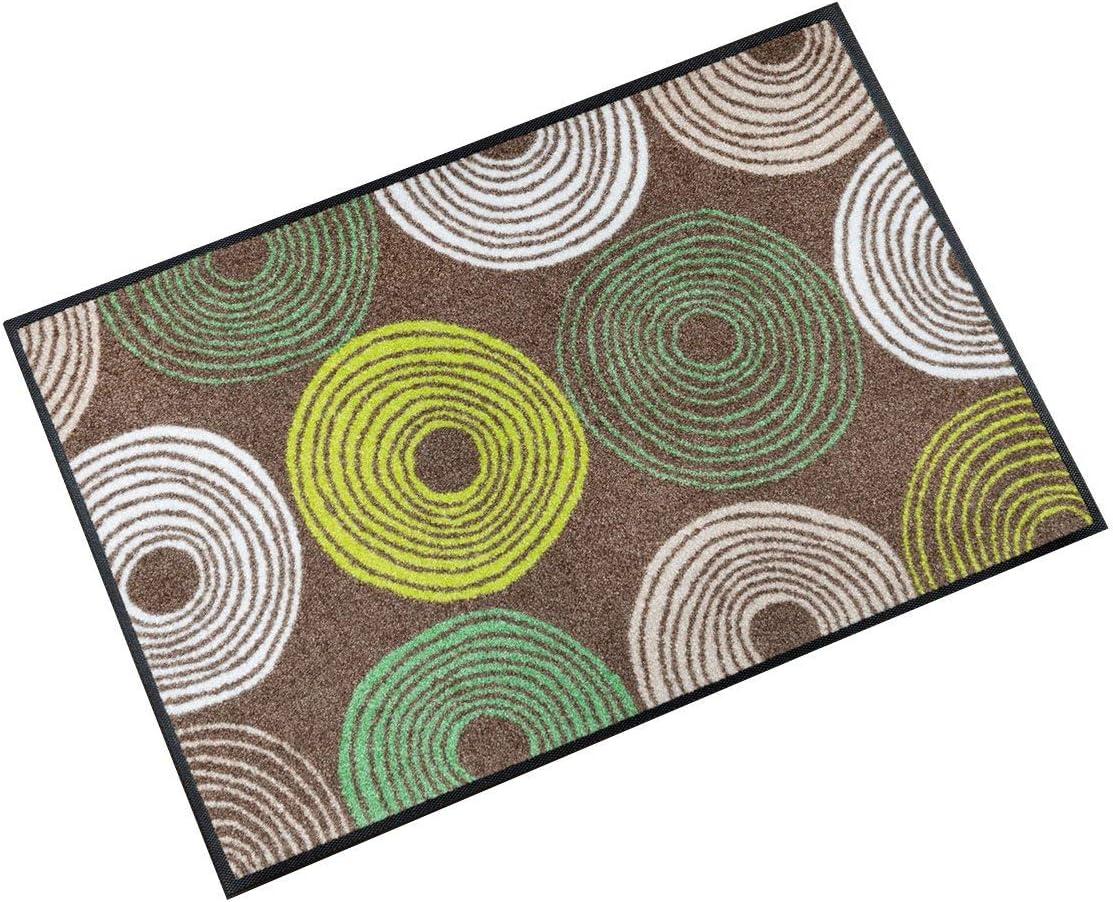 Dry Cyclone Tapis Color/é Surface en Polyamide 75 x 50 cm Wash