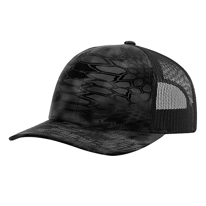 e3f27478 Image Unavailable. Image not available for. Color: Twill Mesh Back Trucker  Snapback Hat -- TYPHON/BLACK
