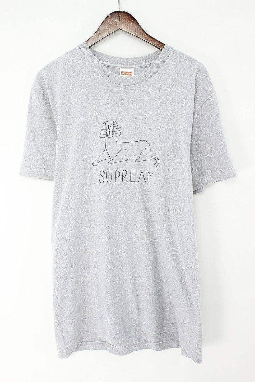 (シュプリーム) SUPREME 【13SS】【Schminx Tee】スフィンクスプリントTシャツ(L/グレー) 中古 B07FBB5FX9  -