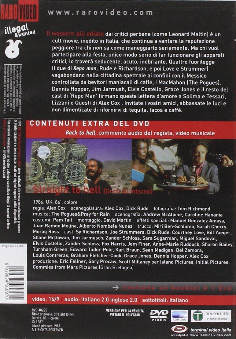 Amazon.com: Straight To Hell - Dritti AllInferno [Italian ...