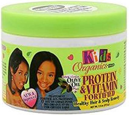 Kids Organics 213 g Proteína y Vitamina Fortificada Saludable Cabello y Cuero cabelludo Remedio