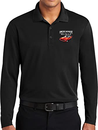 Yoga Clothing For You Dodge Long Sleeve Polo American Made ...