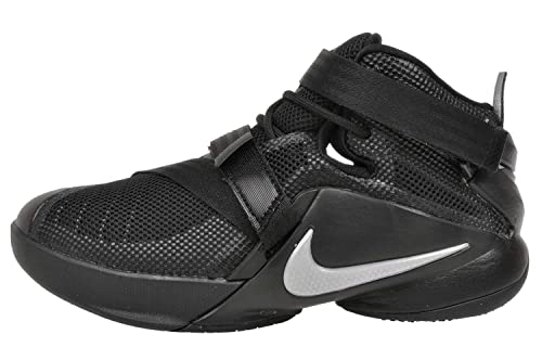 size 40 8abbb d635e Nike Youth Lebron Soldier 9 Boys Basketball Shoes Black Metallic Silver  776471-001 Size 5  Buy Online at Low Prices in India - Amazon.in