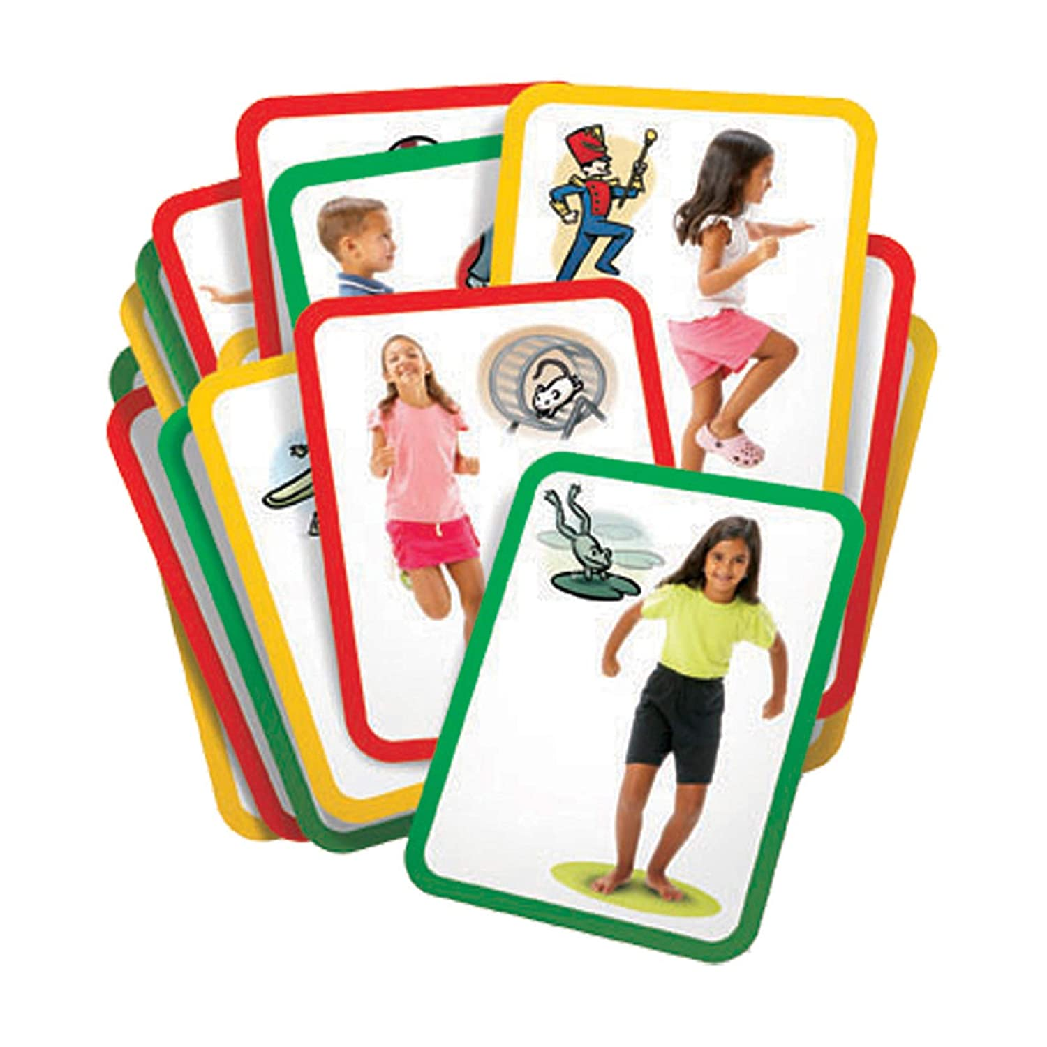 Amazon.com: Roylco R62012 Busy Body - Gross Motor Exercise Cards ...