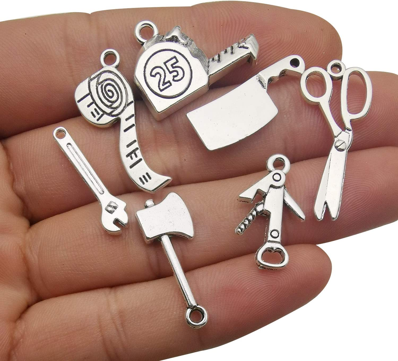 Wholesale 100 X Princess Mixed Metal Charms Pendants DIY Jewellery Making