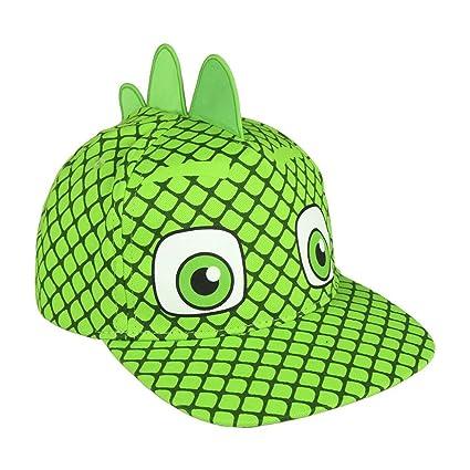 Pj Masks - Super Pigiamini – Sombrero Visera 3D, algodón, niños,, gattoboy