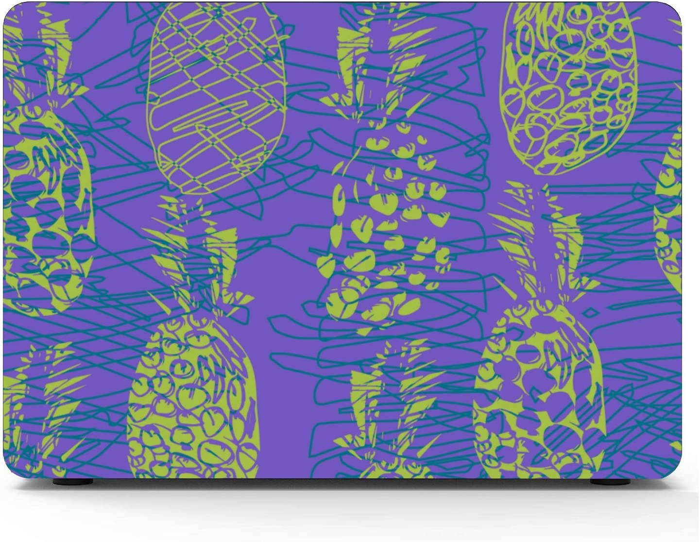 MacBook Pro 13in Case Summer Fashion Fruit Pineapple Plastic Hard Shell Compatible Mac Air 11 Pro 13 15 MacBook 11 Inch Case Protection for MacBook 2016-2019 Version