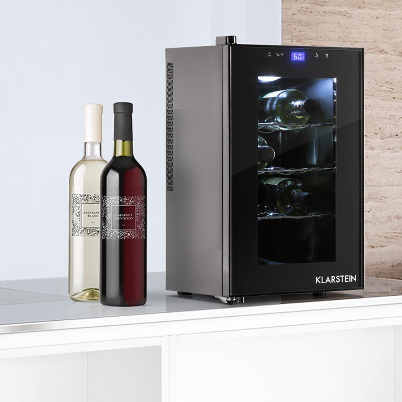 Klarstein Reserva Piccola • Weinkühlschrank • Getränkekühlschrank