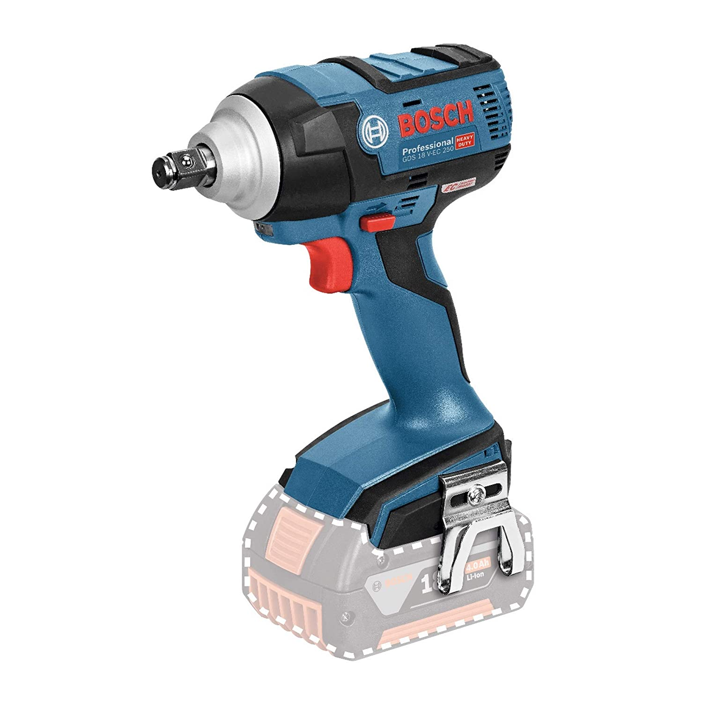 Bosch Professional GDS 18 V-EC 250 18V, 250 Nm, tornillos hasta M18, sin bater/ía, en caja Atornillador de impacto a bater/ía