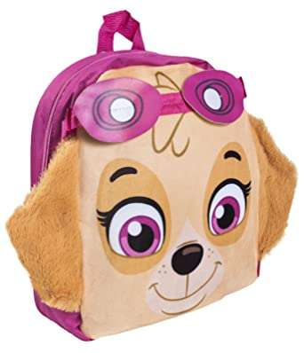 740a13a46100 Paw Patrol Plush Backpack Skye 3D  Amazon.co.uk  Clothing