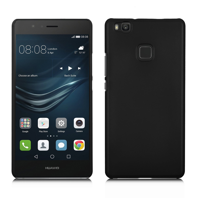 online store 94d46 cd044 Huawei P9 Lite case, KuGi ® Huawei P9 Lite case- High quality ultra-thin PC  Hard Case Cover for Huawei P9 Lite smartphone (Black)