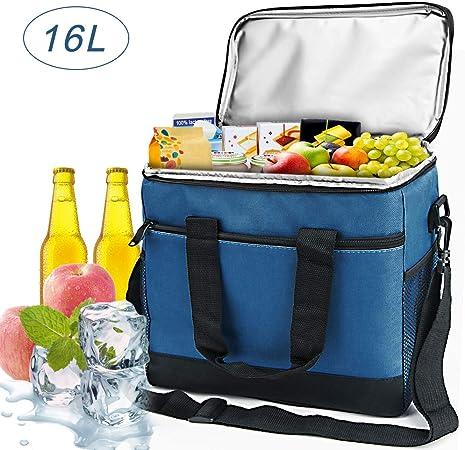 Campingtasche Wasserdichte Kühltasche Isoliertasche Rucksack Picknick Bag 18L