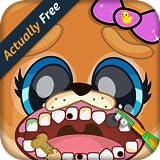 Baby Pet Vet Dentist – Animal Doctor Dog, Cat, Panda, Elephant, Pig, Monkey & Zoo Hospital Surgery Boy and Girl Kids Game FREE