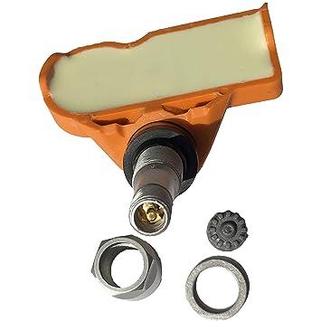 Aluminum stem Valve TPMS046 Gussin 433Mhz TPMS Sensor Tire Pressure Monitoring System Sensor for BMW Mini OE Replacement Pack of 4 Sensor