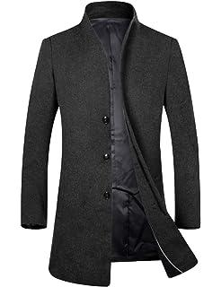 NEW MENS FLINDERS WOOL BLEND CORPORATE JACKET WORK CASUAL DRESS COAT OVERCOAT