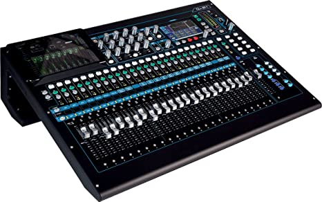 Allen-Heath qu-24 Chrome Mesa de Mezclas Digital: Amazon.es ...
