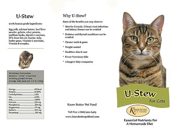 Amazon.com: u-stew para gatos Make Your Own Homemade ...