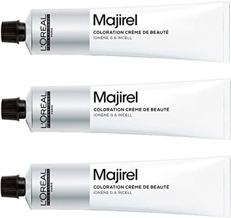 Loreal Majirel 8,31 - Tinte para el cabello (3 unidades, 50 ml)