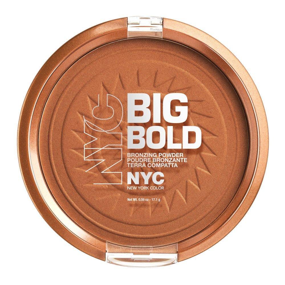 N.Y.C. New York Color Big Bold Bronzer Bronzing Powder, ManhaTan, 1-Count Coty 27000771601