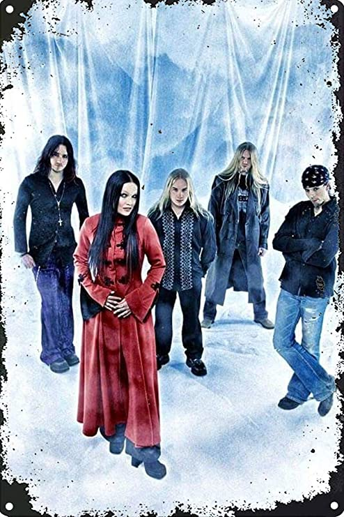 Hunnry Nightwish Póster De Pared Metal Vintage Placa Cartel ...