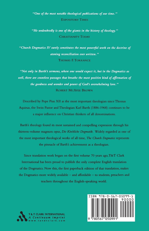 Church Dogmatics the Doctrine of Creation: The Creator and His Creature  (Church Dogmatics) III.3 (Volume 3): Karl Barth: 9780567050991: Amazon.com:  Books
