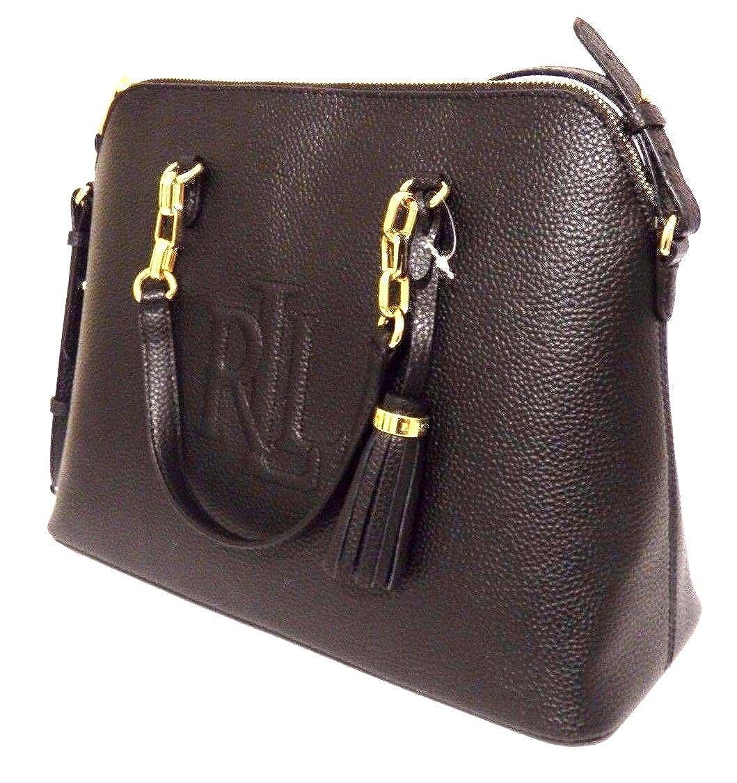 Ralph Lauren - Lauren dome - bolso de mano - black: Amazon.es ...
