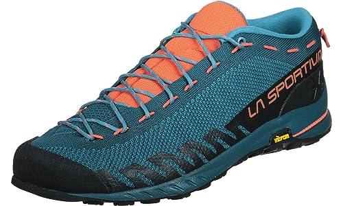 La Sportiva TX2, Zapatillas de Senderismo Unisex Adulto, (Ocean/Flame 000), 41.5 EU: Amazon.es: Zapatos y complementos