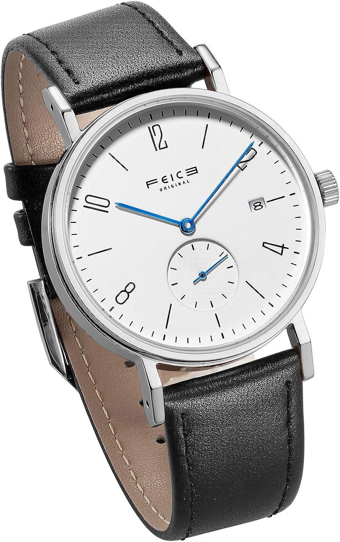 FEICE Reloj Automatico para Hombres Reloj Mecanico Bauhaus Relojes de Pulsera Unisex