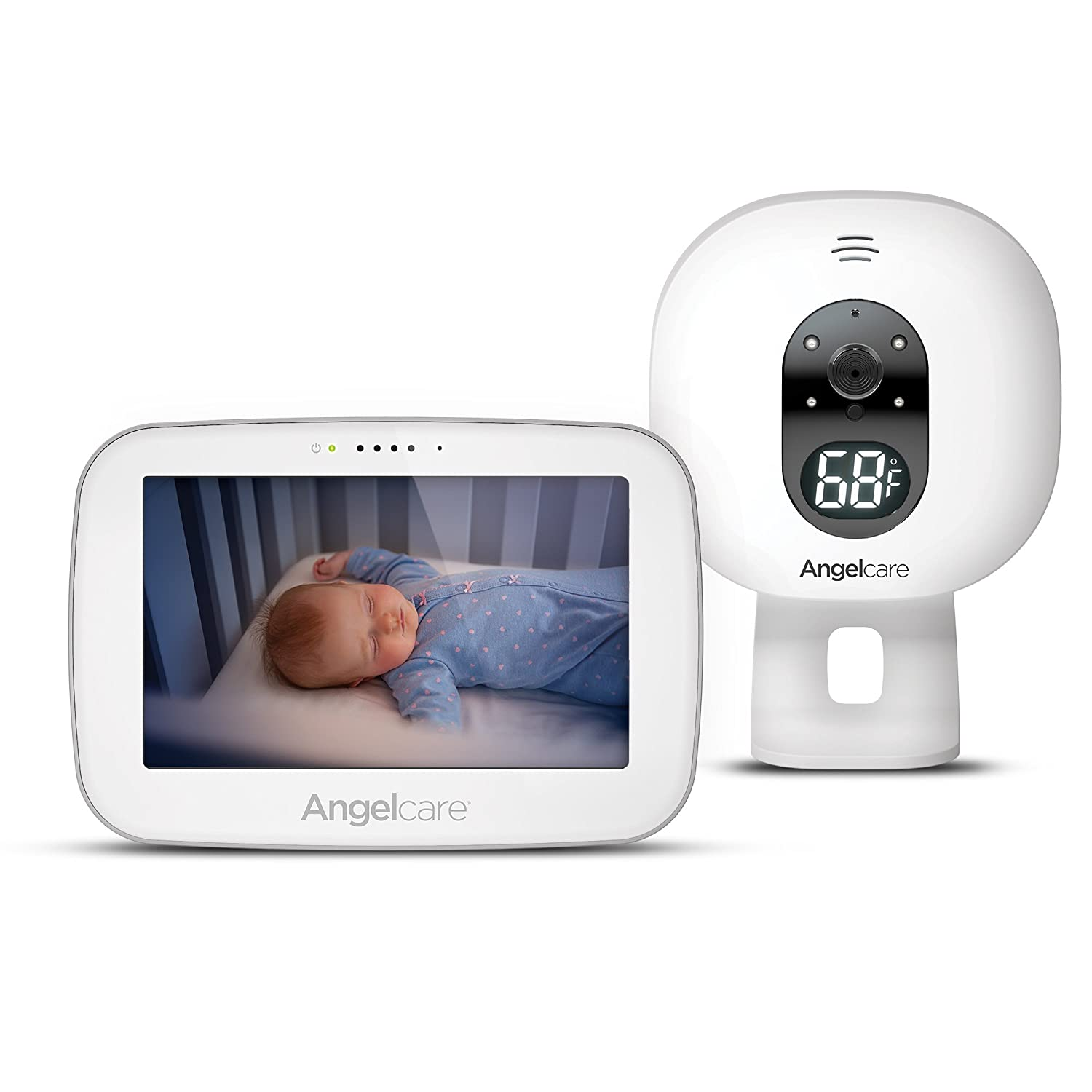Angelcare Baby Video Monitor with 5' Touchscreen Display 510