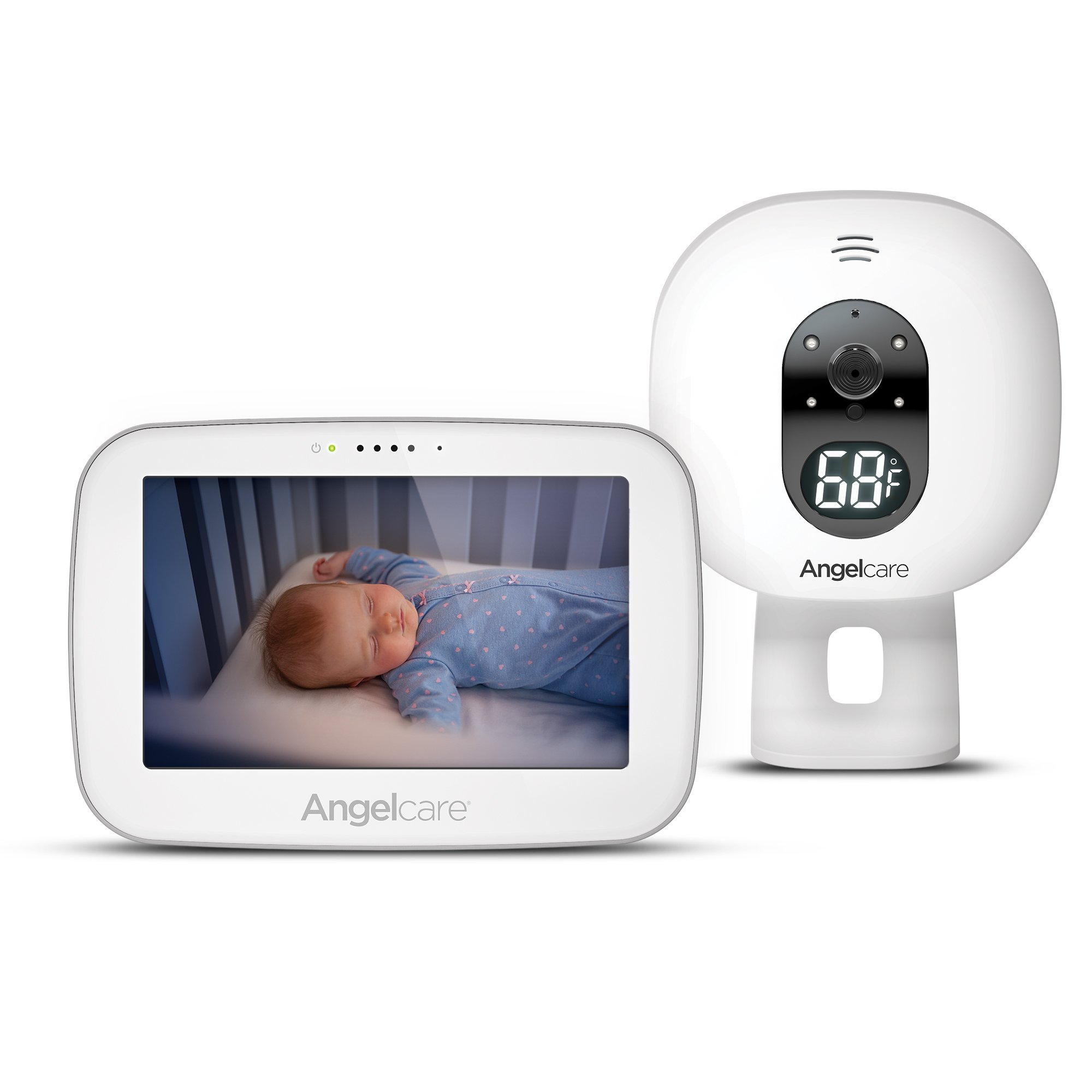 Angelcare Baby Video Monitor with 5'' Touchscreen Display (AC510)