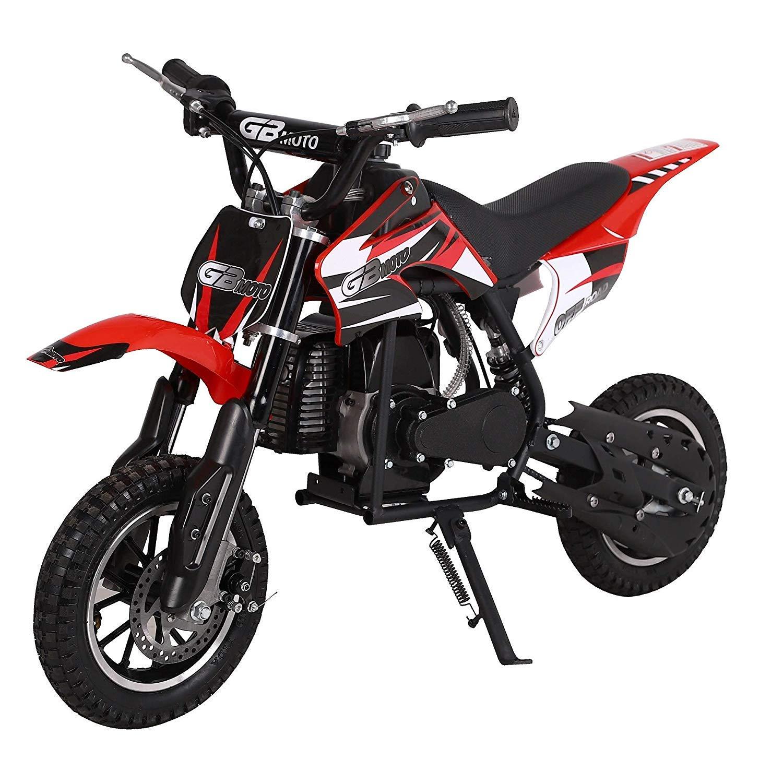 V-Fire 2-Stroke 49cc Dirt Bike Mini Gas Motorcycle Kids Motorcycle Childrens Dirt Bike Kids Dirt Bike 49cc Mini Dirt Bike Gas Mini Motorcycle