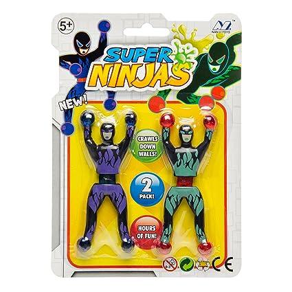 JONOTOYS - Juego de 3 escaladores de Ventanas Ninja para ...