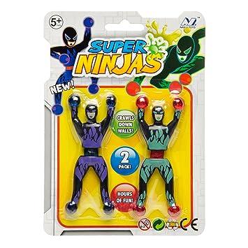 JONOTOYS - Juego de 6 escaladores de Ventanas Ninja para ...