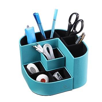 Nice VPACK Magnet Desk Organizer   PU Leather Pencil Cup Pen Holder   Office  Supplies Desktop Stationery