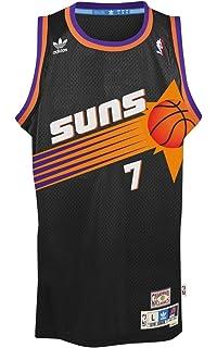 7b6b65da24a ... Kevin Johnson Phoenix Suns Black Throwback Swingman Jersey ...
