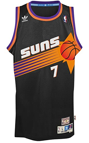 quality design 3095e b91e3 Kevin Johnson Phoenix Suns Black Throwback Swingman Jersey