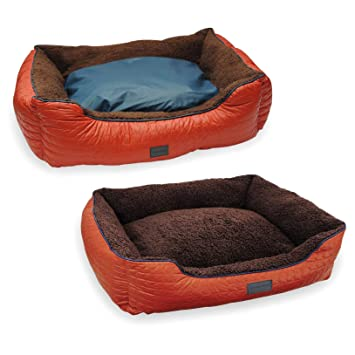 Slumber Pet Double Sided Sherpa Dog Crate Mat in Natural