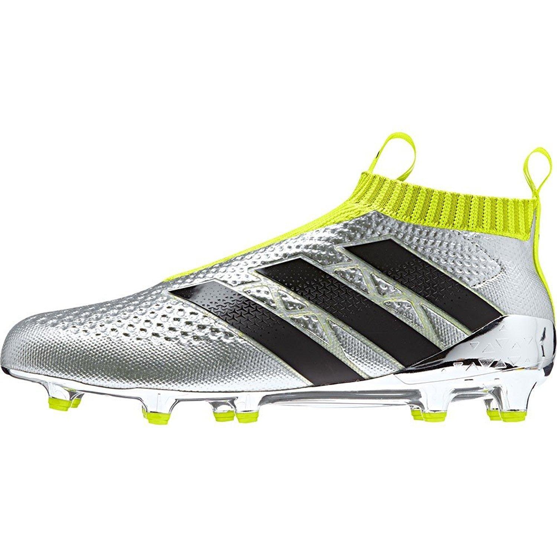 405a0abaf0cc Amazon.com | adidas Ace 16+ Purecontrol FG Silvmt/Cblack/Syellow Shoes -  9.5A | Soccer