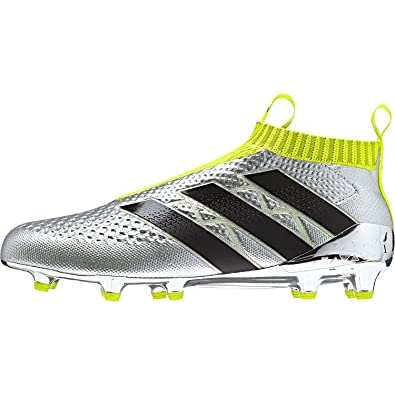new concept 09718 19c32 adidas Ace 16+ Purecontrol FG SilvmtCblackSyellow Shoes - 9.5A